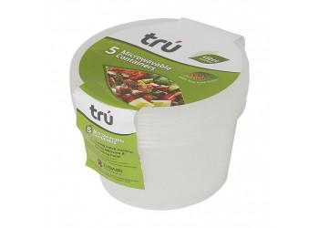 Microwave Container Tru MWC450 (5pcs per pack)