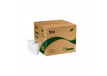 Plastic cup white 5 oz (20X50 pcs)