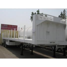 Flat Bed Trailer 50 Ton