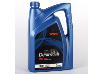 SCOPE Denim Heavy Duty Diesel Engine Oil 9000 SAE 15W40 API CI4 SL 5 Litres