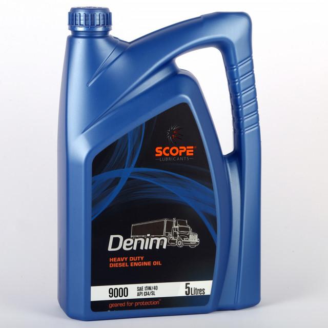 SCOPE Denim Heavy Duty Diesel Engine Oil 9000 SAE 15W40 API CI4 SL 5 Litres