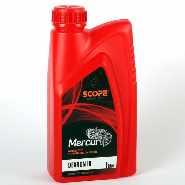 SCOPE Mercur Automatic Transmission Fluid ATF Dexron III 1 Litre
