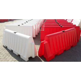 Red and White Road Barrier Full ( 16 KG - 225 KG )