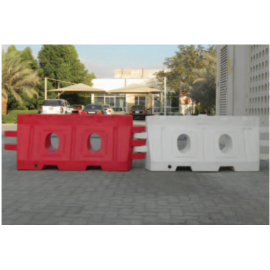 Red and White Road Barrier ( Sizes Available 16 KG - 225 KG )