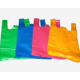 BIODEGRADABLE VIRGIN PLASTIC CARRY BAG PLAIN
