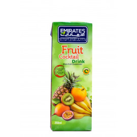 Fruit Cocktail  Drink 250 ML X 24 Pieces Per Box