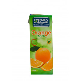 Emirates Orange Juice Drinks 250 ML X 24 Pieces Per Box
