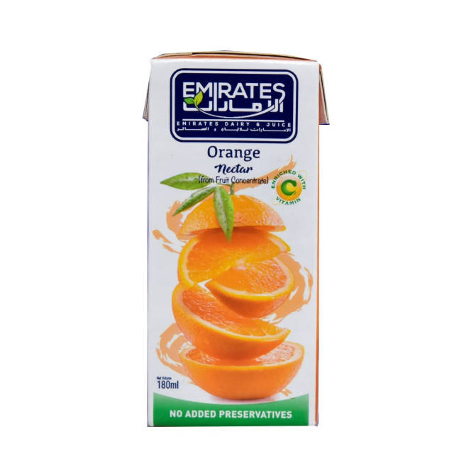 Orange Nectar 180 Ml.