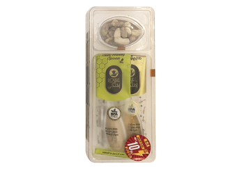 Royal Honey with Fresh Nuts with honey spoon 3 in 1