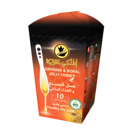 Ginseng & Royal Jelly Honey Spoon (10 Pieces Per Pack)