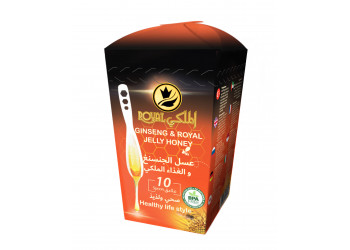 Ginseng & Royal Jelly Honey Spoon 10 pieces