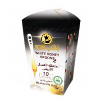 White Honey Spoon 10 pieces