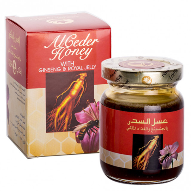 Honey with Royal jelly and Ginseng 175g