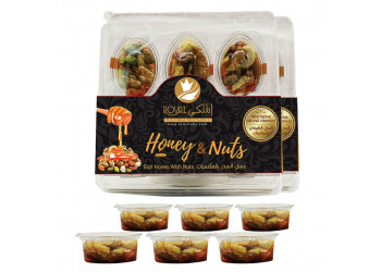 Royal Honey with fresh nuts – Tray 42.00 AED