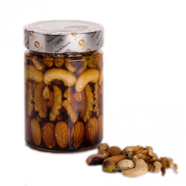 Royal Honey with fresh nuts ( 400 Grams )