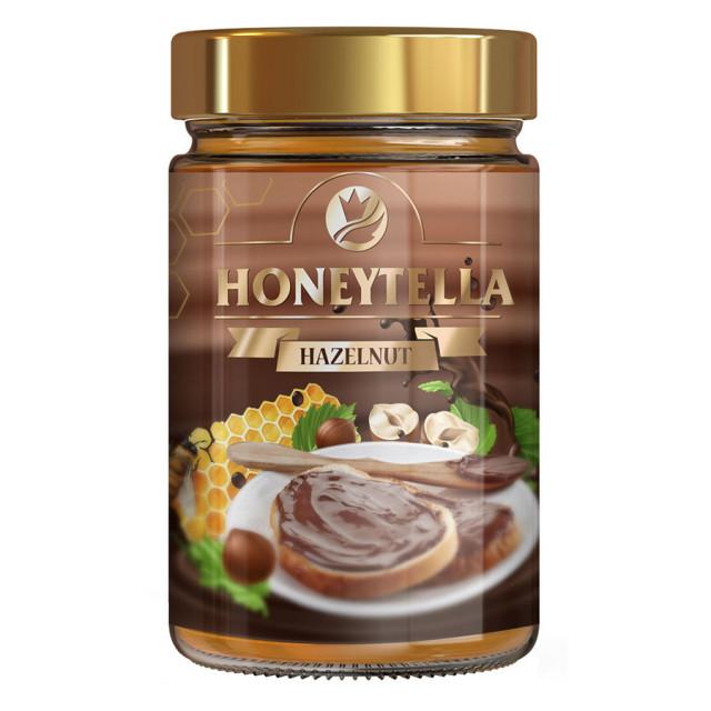 Honey with Hazelnut Extract Honeytella 175g