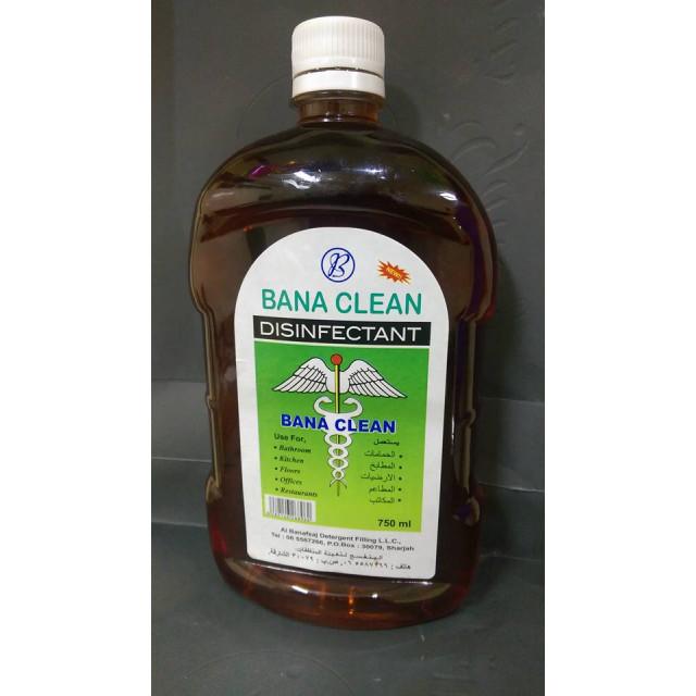 BanaClean Disinfectant(  750 ML X 12 )