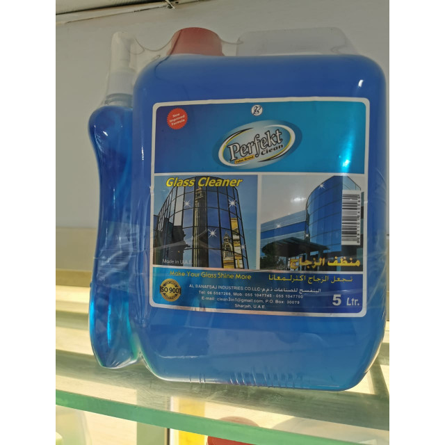 Perfekt Clean Glass Cleaner 5L x 4