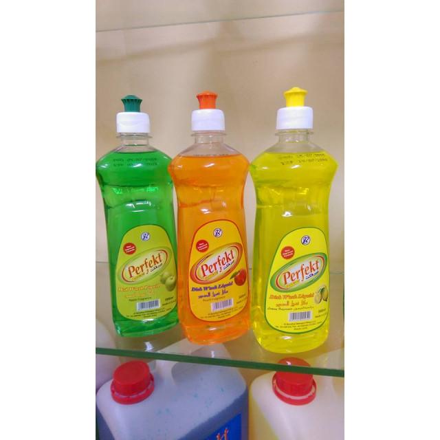 Perfekt Clean Dish wash liquid 500 ml x 24