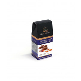 Chocolate Dates With Almonds 220 Grams