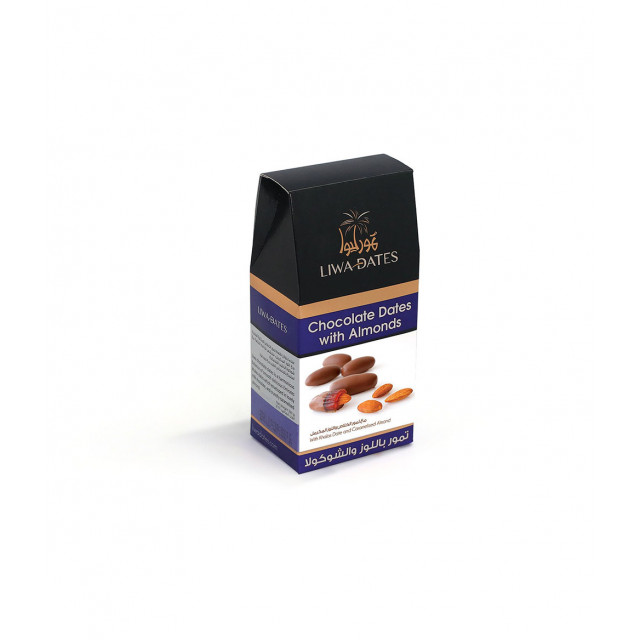 Chocolate Dates With Almonds 220g