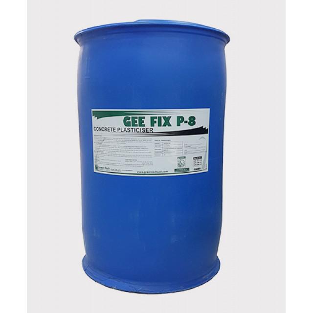 GEE FIX P8 (CONCRETE PLASTICIZER) 285kg per Drum