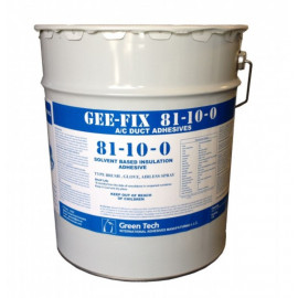 GEE FIX  81-10  AC Duct Adhesive