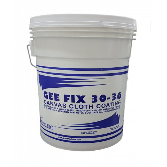 GEE-FIX CANVAS CLOTH COATING 30-36