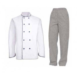 CHEF JACKET AND TROUSERS MEN AND WOMEN