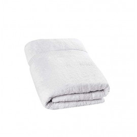 Hand Towel , 45x70, White ( Set of 8 Pieces )