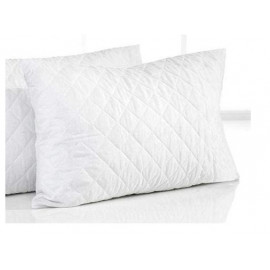 White Quilted Pillow ( 45 X 70 )