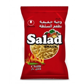 Salad Snack  CHILLI 25 Grams ( 18 Pieces by 4 Bags )