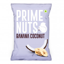 BANANA COCONUT CHIPS 50 Grams ( 24 Pieces Per Carton )