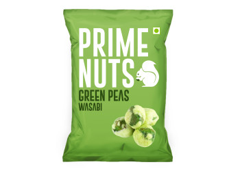 WASABI GREEN PEAS 125 Gm ( 24 Pieces Per Carton  )