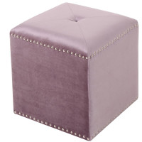 Tufted Cube ottoman