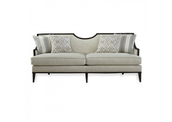 Albarto 3 Seater Wooden Sofa