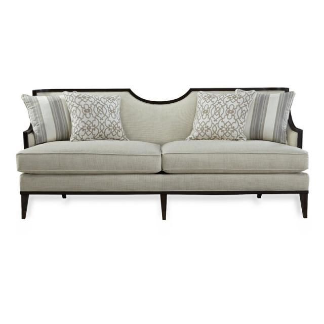 Albarto 3 Seater Wooden Sofa