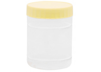 Chemco Round PET Jar 300 ml  / Plastic Container