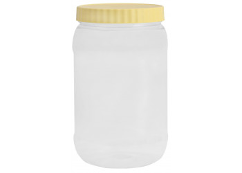 Chemco Round PET Jar 1000 ml / Plastic Container