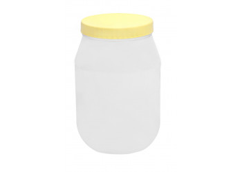 Chemco Round PET Jar 3000 ml  / Plastic Container