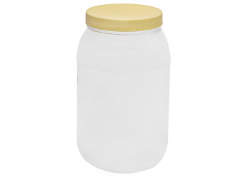 Chemco Round PET Jar 4000 ml / Plastic Container