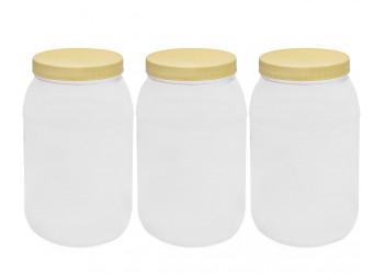 Chemco Round PET Jar 4000 ml / Plastic Container