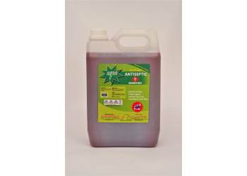 AQUA ANTISEPTIC DISINFECTANT 5 LTR X 4 pcs per box