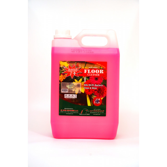 Aqua Plus Floor Cleaner (Rose)  5L X 4 pcs per box
