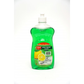 Aqua Dish wash Green Lemon 500ml X 12 pcs per box