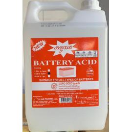 AQUA BATTERY ACID 5 LTR (4 pcs per carton)