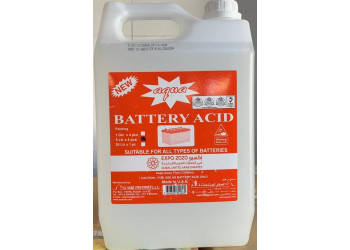 AQUA BATTERY ACID 5 LTR (4 pcs per carton)