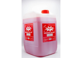AQUA RADIATOR COOLANT RED 20 Liter