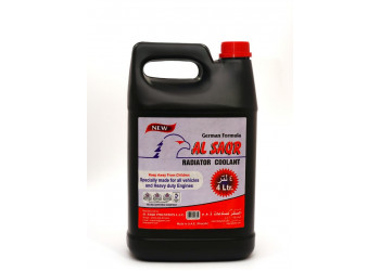 AL SAQR RADIATOR COOLANT GREEN 4 LTR (4 pcs per carton)