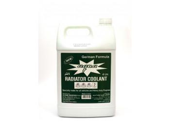 AQUA RADIATOR COOLANT GREEN 4 LTR ( 4 Pieces Per Carton )